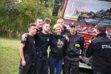Piknik strażacki w Wierzchowie koło Szczecinka. Zabawa na 102 [zdjęcia]
