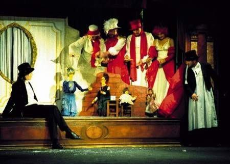 """Piękne przedstawienie """"Mr Scrooge"""" stanowiło finał udanego przeglądu.ZDJĘCIE: JACENTY DĘDEK"""