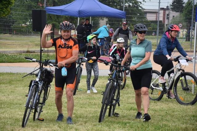 W rajdzie rowerowym w Żorach wzięło udział ponad sto osób.