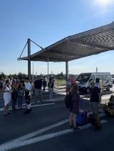 Ewakuowano lotnisko w Pyrzowicach. Kilkuset pasażerów musiało opuścić terminale