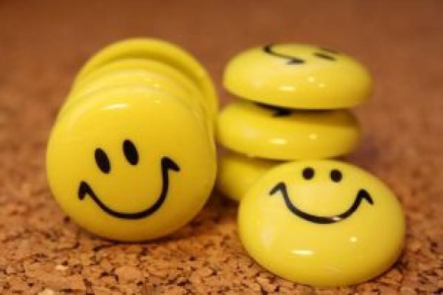 Uśmiech lekiem na wszystko.