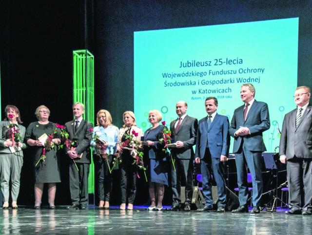 W Operze Śląskiej w Bytomiu  wyróżniono i podziękowano osobom, które aktywnie wspierają działania Wojewódzkiego Funduszu Ochrony Środowiska i Gospodarki Wodnej w Katowicach