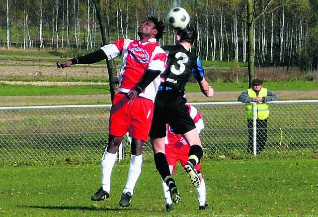 Albert Asseh to nie tylko czołowy piłkarz Rylovii, ale też wyróżniający się gracz okręgówki