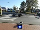 Gmina Czerniejewo. Wypadek w Żydowie z udziałem motocykla