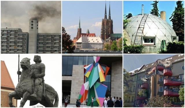 Nietrafione projekty, budowlane wpadki, dziwaczne pomniki i inne koszmarki, które budzą emocje wrocławian, dziwią turystów i są przedmiotem kpin internautów. W naszym mieście ich nie brakuje. Oto największe, naszym zdaniem, dziwolągi Wrocławia.  Zobaczcie na kolejnych slajdach. Jeśli czegoś na naszej liście brakuje, dajcie znać: redakcja@gazeta.wroc.pl.