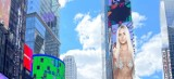 Białostocka influencerka na znanym bilbordzie na Time Square w Nowym Jorku