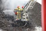 Pożar w Międzychodzie. Nad ranem spłonęła część domu przy ulicy Strzeleckiej w Międzychodzie. Nie żyją trzy osoby