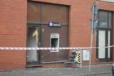 Bandyci wysadzili bankomat w centrum Zdun  [ZDJĘCIA]