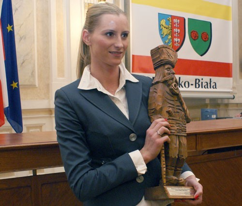 Anna Barańska odebrała statuetkę Harnasia i tytuł Sportowca Roku