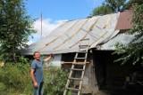 Dachy fruwające nad polami. Skutki potężnej burzy w powiecie zamojskim
