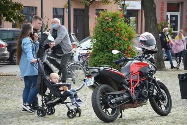 Łowickie Spotkanie Motocyklowe 2020 na Nowym Rynku w Łowiczu