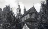 Dawny Stargard cz. 33. Kolegiata mariacka i plebania przed 1945 rokiem. Archiwalne zdjęcia