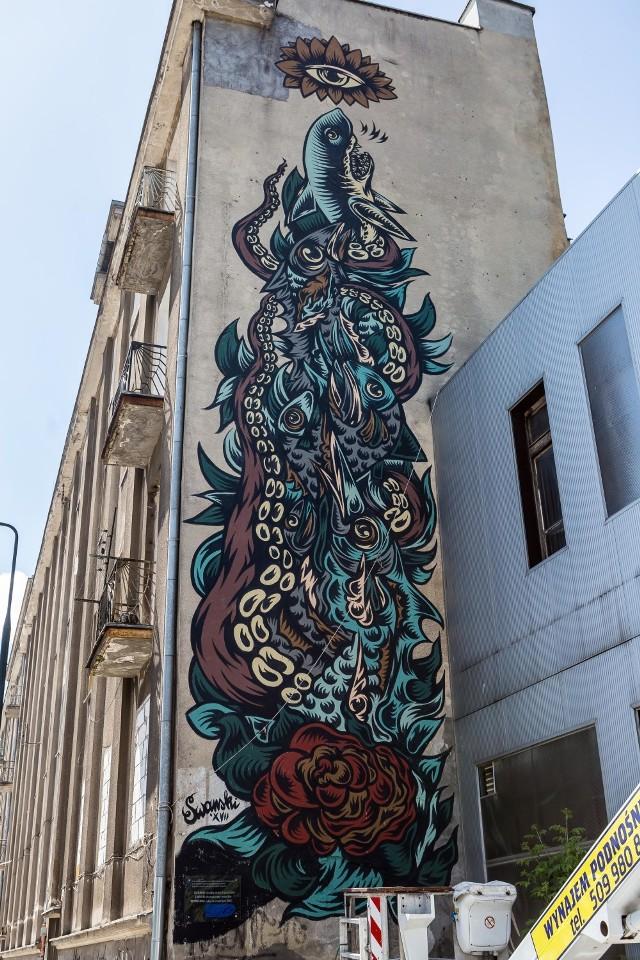 Na Woli powstał wyjątkowy mural. Wszystko z okazji światowego dnia oceanów