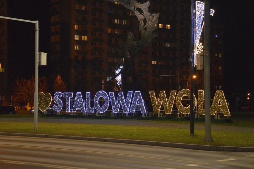 Kiedy zapada noc w Stalowej Woli, włączane są reklamy na...