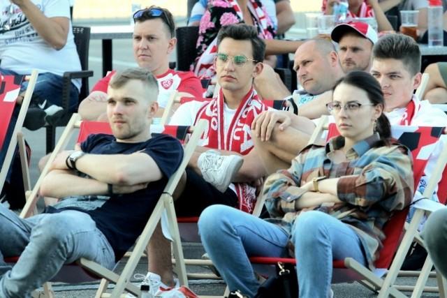 Strefa Kibica przy Stadionie Miejskim we Wrocławiu 14.06.2021