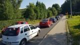 Bochnia. Utrudnienia dla kierowców na ulicy Strzeleckiej, do grudnia potrwa przebudowa fragmentu drogi powiatowej, ruch wahadłowy [ZDJĘCIA]