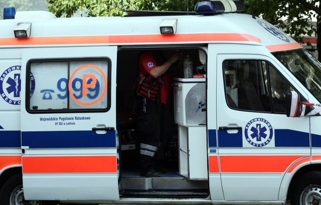 Wypadek w Białej Podlaskiej. 55-latek stracił dłoń.