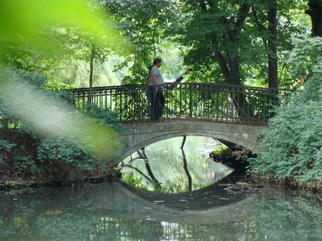 Znajdzie się też coś dla romantyków. Dlatego Park Skaryszewski to doskonałe miejsce na randkę.