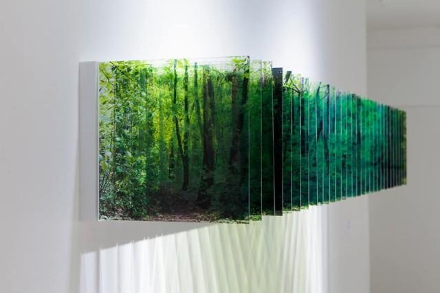 Japoński artysta chciał uzyskać prawdziwą głębię. Nałożył na siebie setki zdjęć!