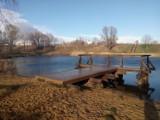 Jezioro u Grona. Dobre miejsce na wypoczynek, nie tylko z wędką ZDJĘCIA