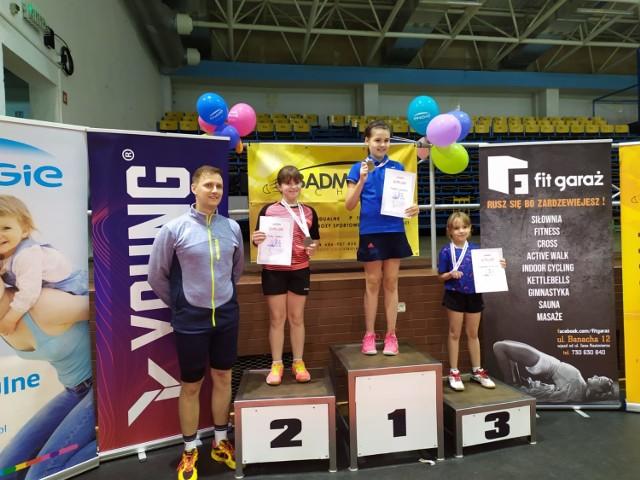 Michalina Kurkowska zajęła 3 miejsce podczas turnieju w Słupsku