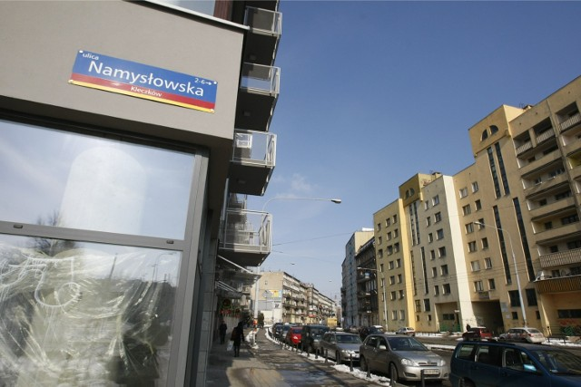 Ul. Namysłowska, tak jak Jedności Narodowej, jest mylnie przypisana do osiedla Kleczków