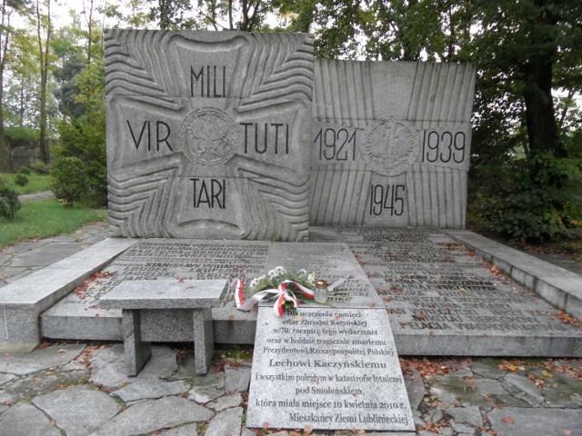 Lubliniec: 75. rocznica wybuchu II wojny światowej ze skromną wiązanką