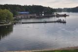 Pływająca fontanna na Trzesiecku w Szczecinku na razie okazuje się za droga [zdjęcia]