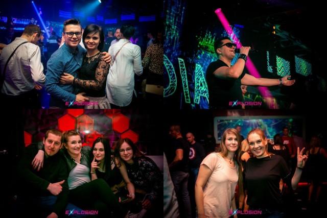 Kordian w radomskim klubie Explosion.   Zobacz też: Koncert Playboys w Radomiu