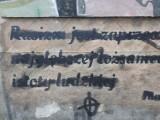 Zniszczono mural z cytatem Jana Pawła II w Białymstoku. To nie pierwszy raz, kiedy mural został zamalowany