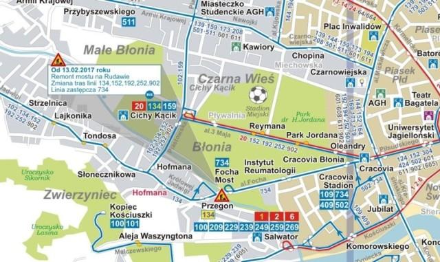 Krakow Duze Zmiany Na Alei 3 Maja Mapa Utrudnien Krakow Nasze