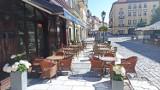 Ogródki restauracyjne wracają na Główny Rynek w Kaliszu