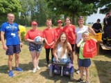 W gminie Wągrowiec odbył się charytatywny rajd rowerowy dla Rozalii