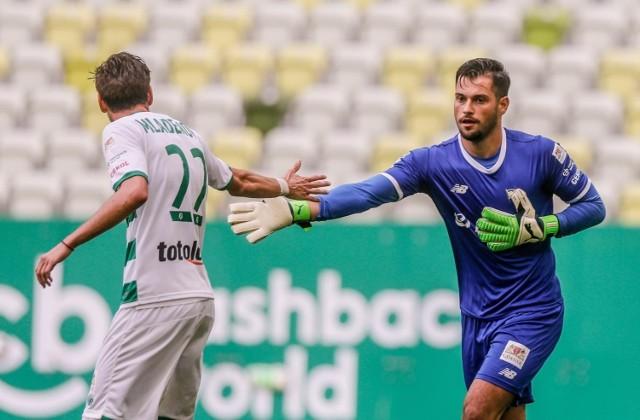 Zlatan Alomerović jest w Lechii Gdańsk od lipca 2018 roku. Nowy kontrakt wiąże go z biało-zielonymi do końca czerwca 2023 roku