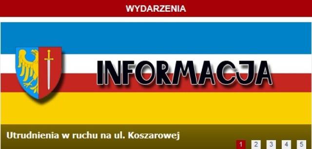 Żory: Utrudnienia w ruchu na ul. Koszarowej