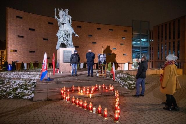 Podobne uroczystości odbyły się 14 stycznia w wielu polskich miastach