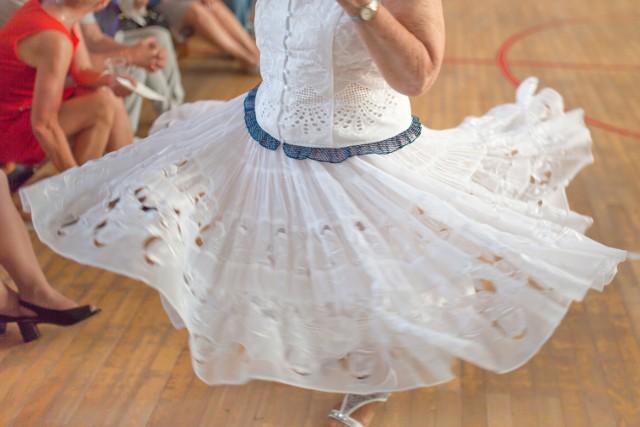 Karnawałowy dancing na osiedlu A w Tychach