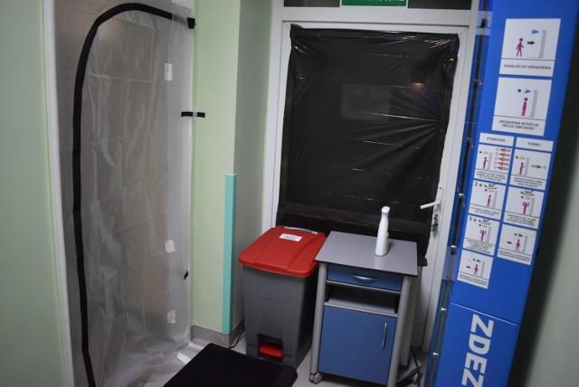 Oddział covidowy w Krośnie Odrzańskim został przygotowany w kilka godzin, aby móc przyjąć pacjentów z koronawirusem.