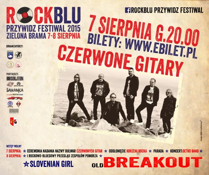 Przywidz: RockBlu Festiwal. Koncert Czerwonych Gitar