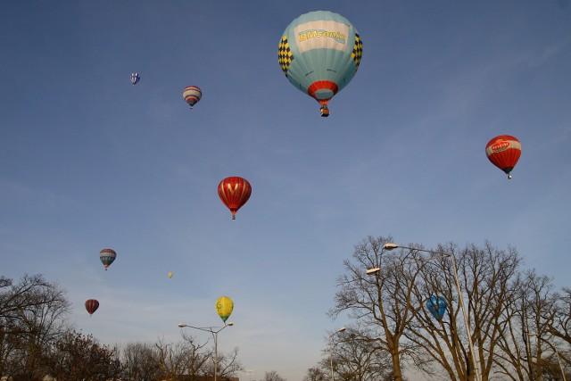 Balony nad Kwidzynem w 2009 roku