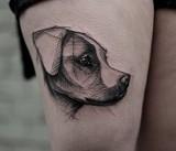 Oto najlepsze tatuaże z psami jakie widzieliście!