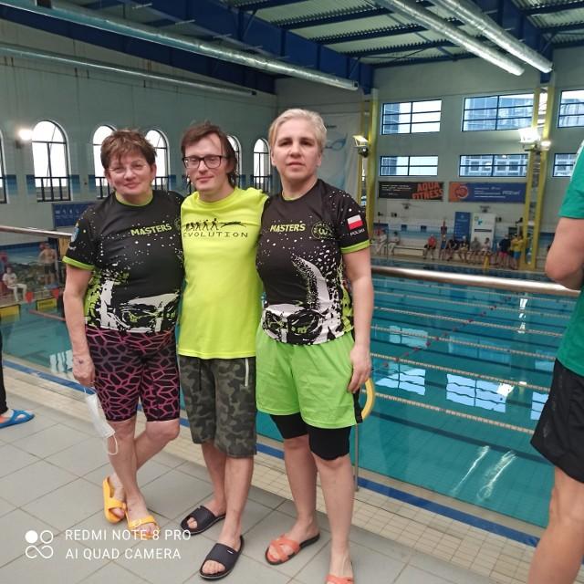 Paweł Krupiński z Gubina odnosi kolejne sukcesy w pływaniu.