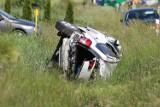 AKTUALIZACJA: Wypadek na drodze Sulmierzyce-Odolanów z udziałem trzech aut. Pięć osób poszkodowanych [ZDJĘCIA]
