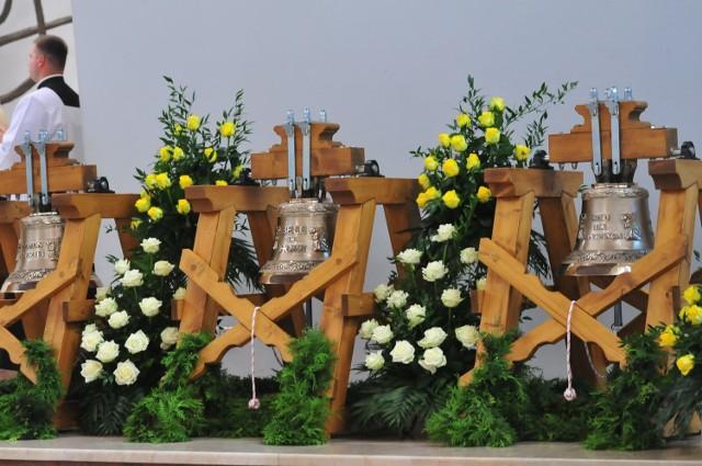 Poświęcenie dzwonów w Łagiewnikach