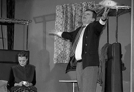 Łodzianie często na scenie prezentują drastyczne tematy. Foto: MAGDALENA CHAŁUPKA
