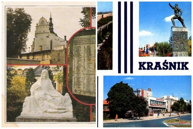 Przejdź do galerii i zobacz stare pocztówki z Kraśnika