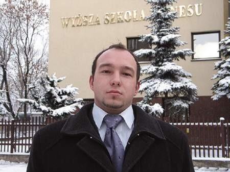 Robert Płonka zamierza bronić interesów wszystkich studentów naszego regionu i nie tylko.