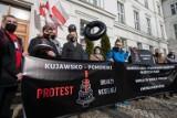 Protest branży weselnej z Kujawsko-Pomorskiego w Bydgoszczy [zdjęcia]