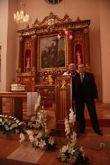 Ksiądz Robert Wardęcki w Brzezinach