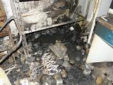 Pożar warsztatu na Kościuszki w Toruniu. Płonął zakład mechaniczny AUTOLIDER [ZDJĘCIA]